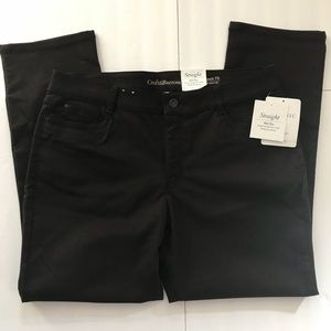 croft & barrow Pants - MEW-Black Raisin CROFT & BARROW Straight Pants 16S